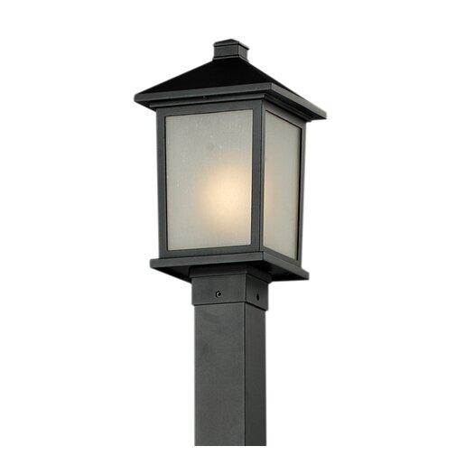 Z-Lite Holbrook 1 Light Post Lantern Set
