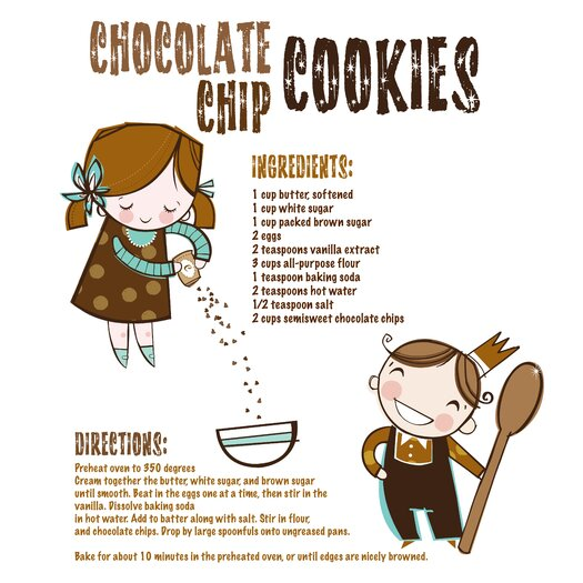 Luca and Company Artwork Chip Cookies Canvas Art