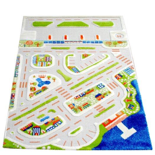 Luca and Company IVI Carpets-Mini City Kids Rug