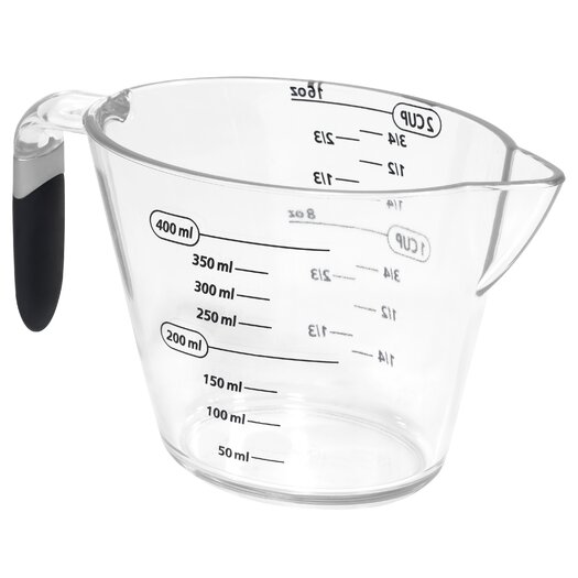 EKCO 2-Cup Measuring-cup with Gray Handle