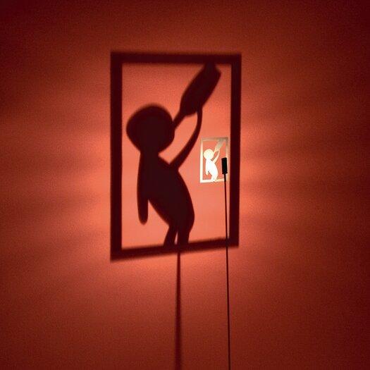 Absolut Lighting Shining Image Drunkard Floor Lamp