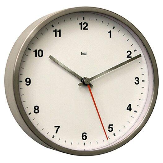 """Bai Design 6"""" Designer Wall Clock"""