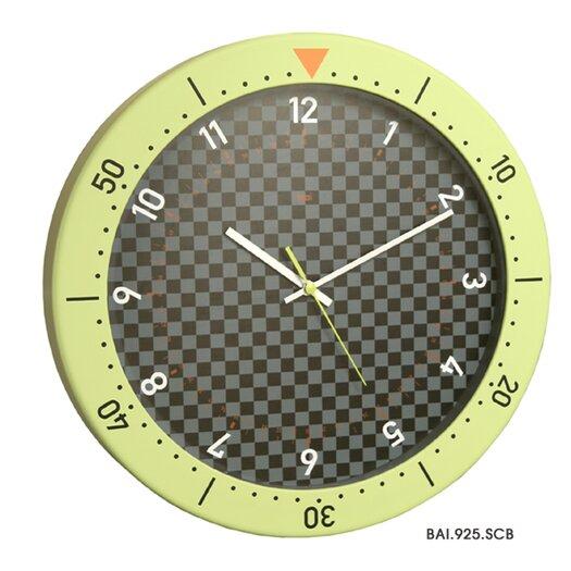"Bai Design 14.5"" Speedmaster Wall Clock"