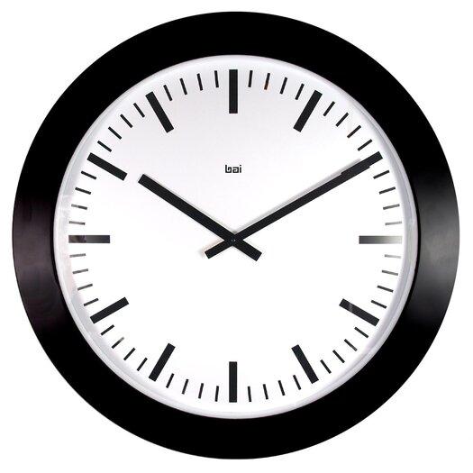 "Bai Design 20"" Jumbo Railroad Wall Clock"