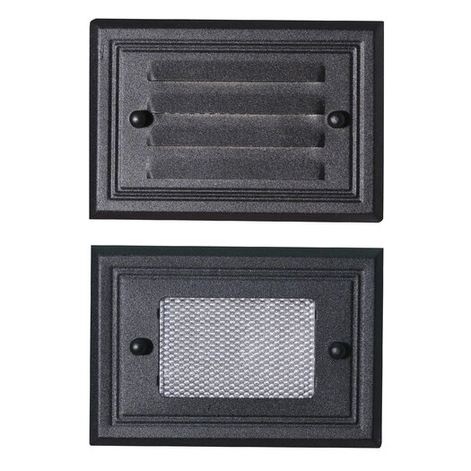 Paradise Garden Lighting Flush Mount Deck Light 2 Face Plate