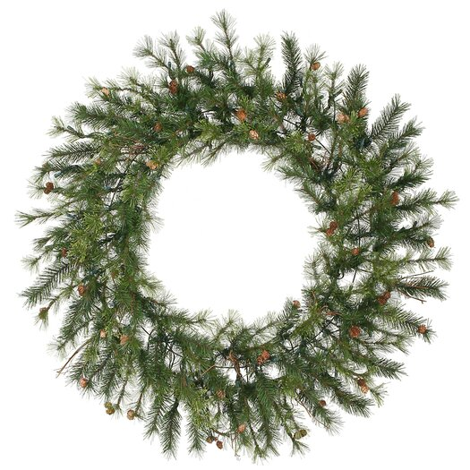 "Vickerman Co. Mixed Country Pine 60"" Wreath"