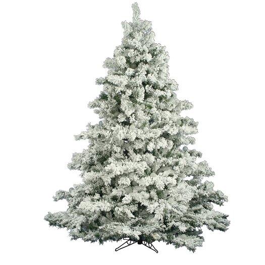 Vickerman Co. Flocked Alaskan 6.5' White Pine Artificial Christmas Tree