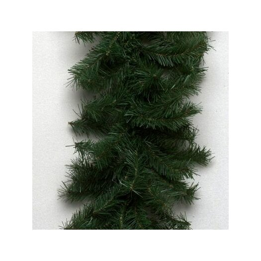 Vickerman Co. Canadian Pine 100' Garland with 2980 Tips