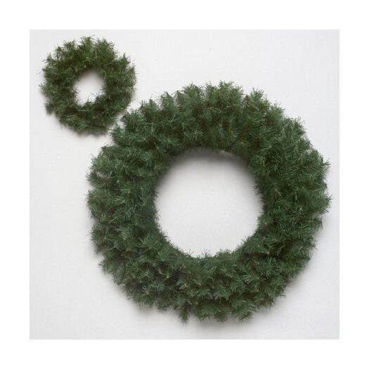 """Vickerman Co. Canadian Pine 72"""" Wreath with 1400 Tips"""