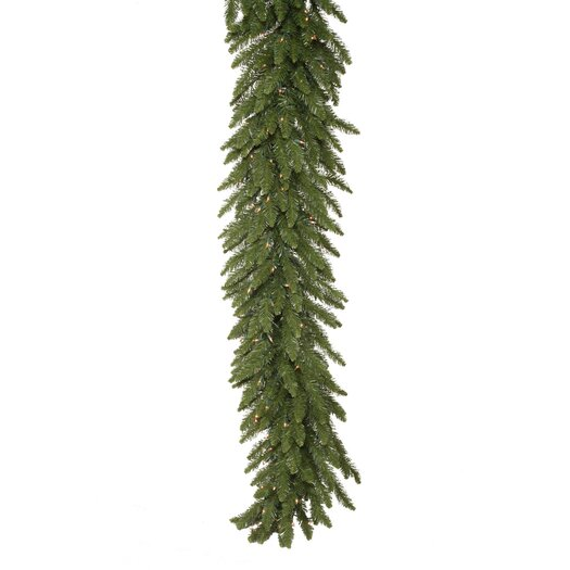Vickerman Co. Camdon Fir 50' Garland with 550 Clear Lights