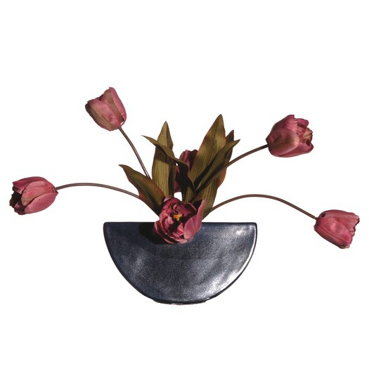 Vickerman Co. Floral Artificial Potted Double Dutch Tulips in Pink
