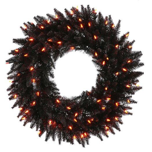 Vickerman Co. Fir Wreath with 210 Lights