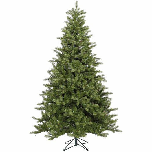 Vickerman Co. King 9' Green Spruce Artificial Christmas Tree with Stand