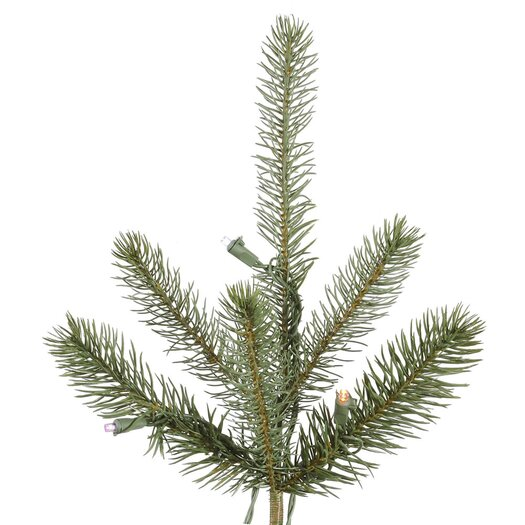 Vickerman Co. Colorado 6.5' Green Spruce Artificial Christmas Tree with 480 LED White Lights with Stand