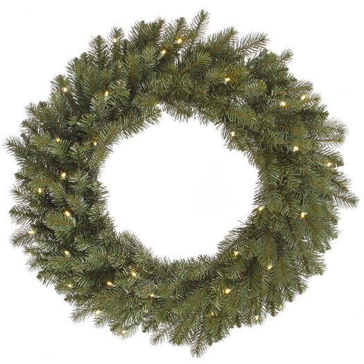 Vickerman Co. Colorado Wreath with 40 LED Lights