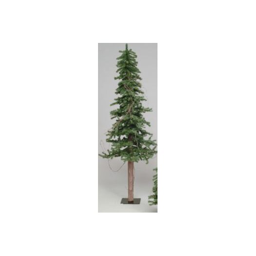 Vickerman Co. Alpine Tree 7' Green Pine Artificial Christmas Tree with Stand