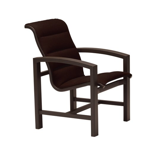 Tropitone Lakeside Padded Sling Dining Arm Chair