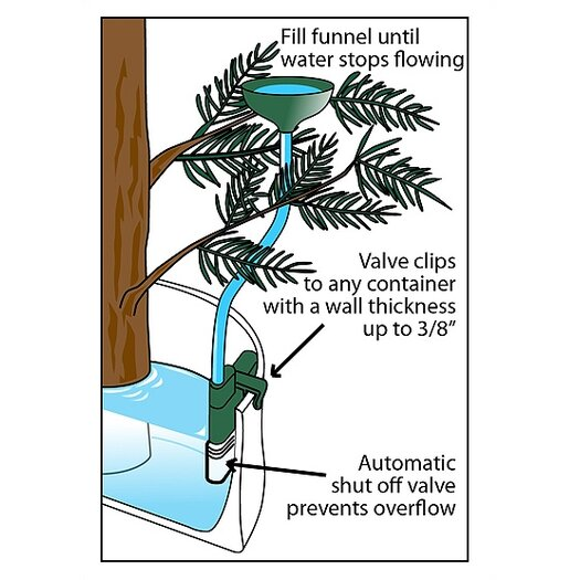 Santa's Solution Auto Stop Christmas Tree Watering System