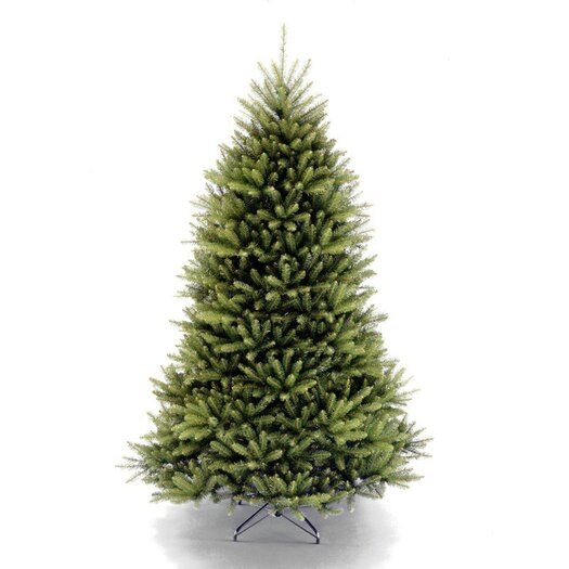 National Tree Co. Dunhill Fir 6.5' Artificial Christmas Tree in Green