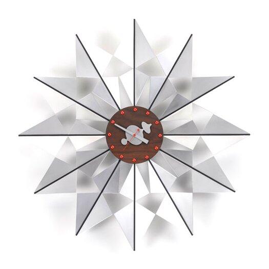 "Vitra Oversized 24"" Flock of Butterflies Wall Clock"