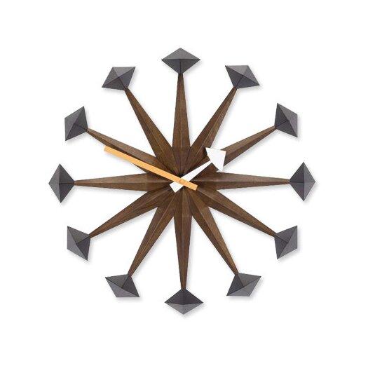 "Vitra 17"" Polygon Wall Clock"
