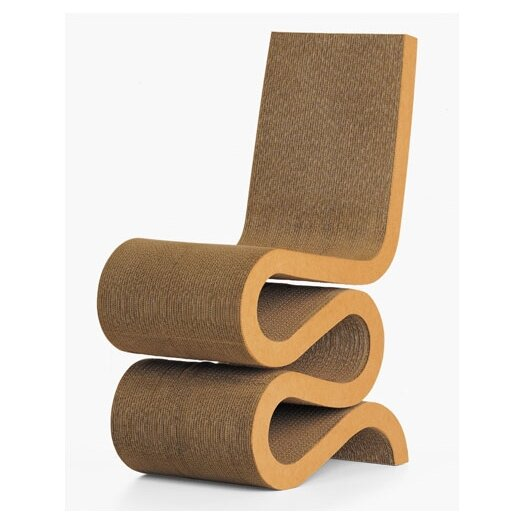 Wiggle Side Chair by Frank Gehry