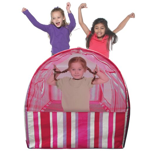 Bazoongi Kids Striped Bed Tent