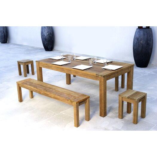 Les Jardins Teak Stafford Extension Table