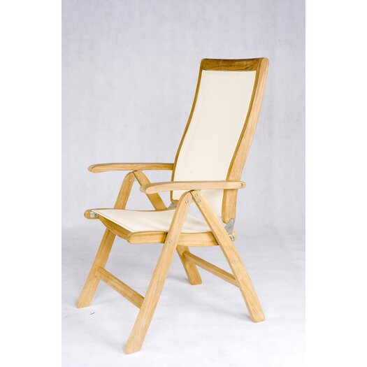 Les Jardins Teak Dining Arm Chair