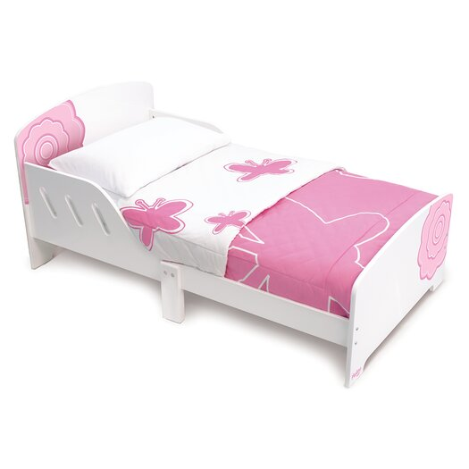Classically Cool Blossom Toddler Panel Bed