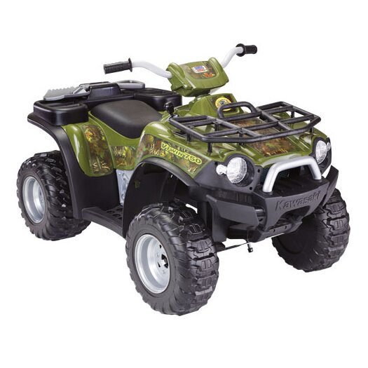 Fisher-Price Power Wheels Kawasaki 12V Battery Powered ATV