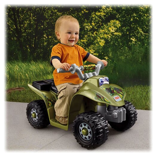 Fisher-Price Power Wheels 6V Battery Powered ATV