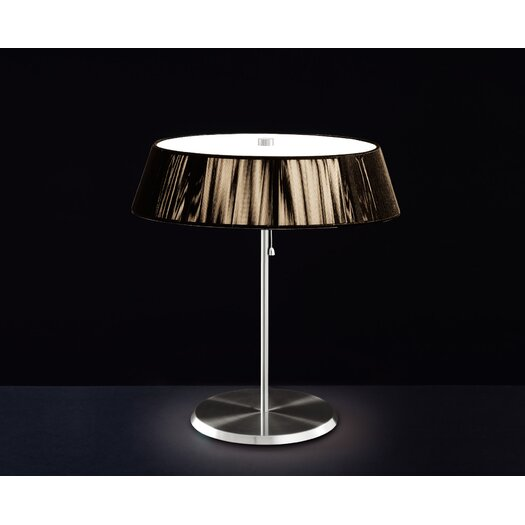 """Leucos Lilith 18.13"""" H Table Lamp by Studio Alteam with Empire Shade"""