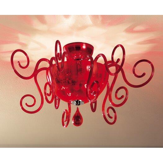 Leucos Bolero Ceiling Light by Carlo Nason