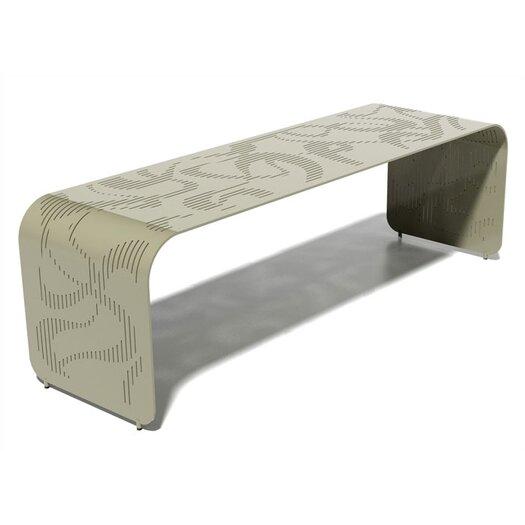 Orange22 Botanist Orikami Aluminum Picnic Bench