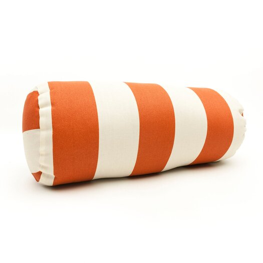 Majestic Home Products Striped Bolster Pillow