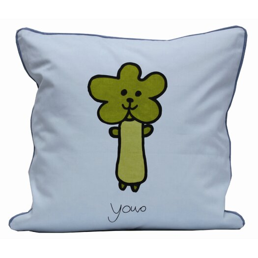 Meo and Friends Down-Filled Pillow