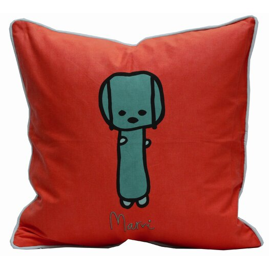 Meo and Friends Friends on Your Marvi Down-Filled Pillow
