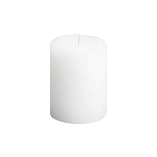 Light In the Dark Rustic Unscented Pillar Candle