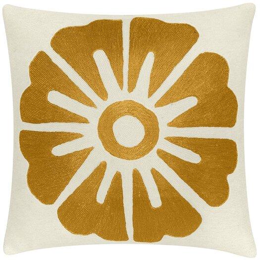 Judy Ross Textiles Big Rosette Pillow