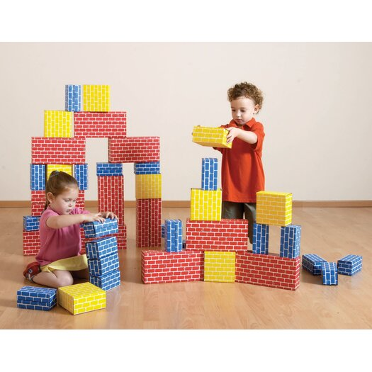 edushape Corrugated Toy Blocks Set