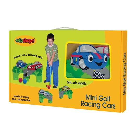 edushape Racing Cars Mini Golf Set