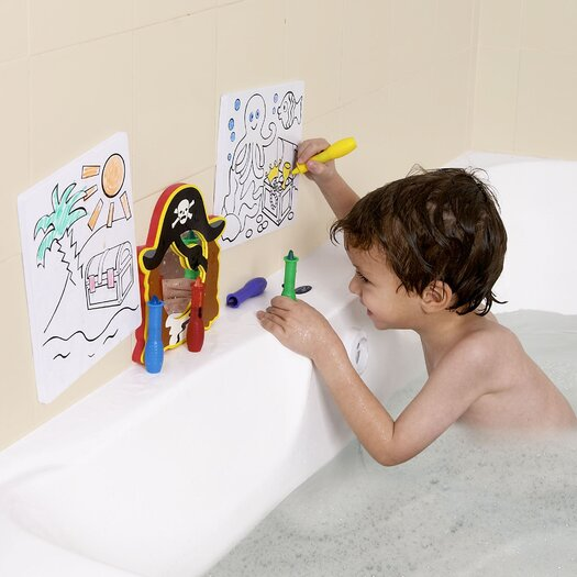 edushape Tub Art Pirates Bath Set