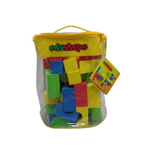 edushape Soft & Unique Blocks 80 Pieces