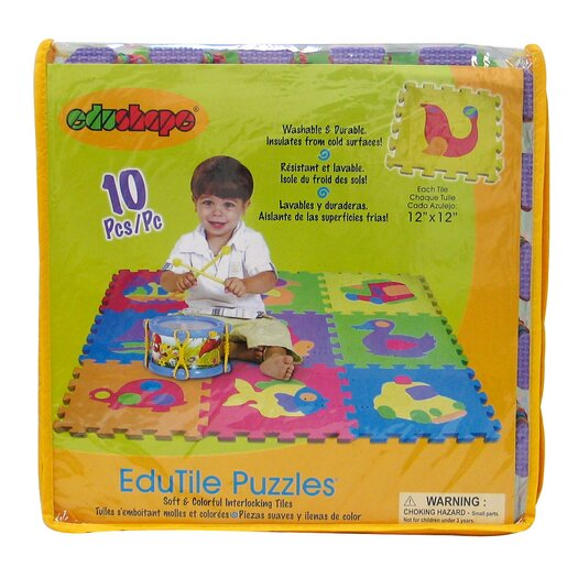 edushape Edu Tiles Toy Set