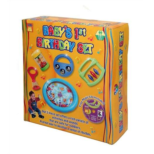 edushape Baby's 1st Birthday Toy Instrument Set