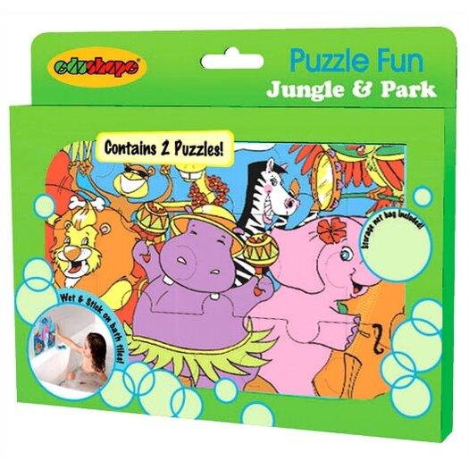 edushape Jungle and Park Foam Jigsaw Puzzle Set