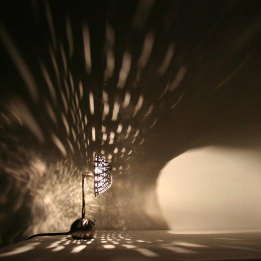 "Lightexture Steamlight Micro 10"" H Table Lamp"