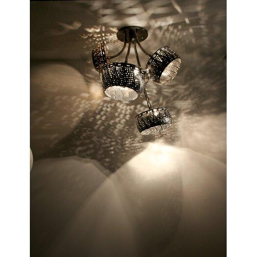 Lightexture Steamlight Semi Flush Mount