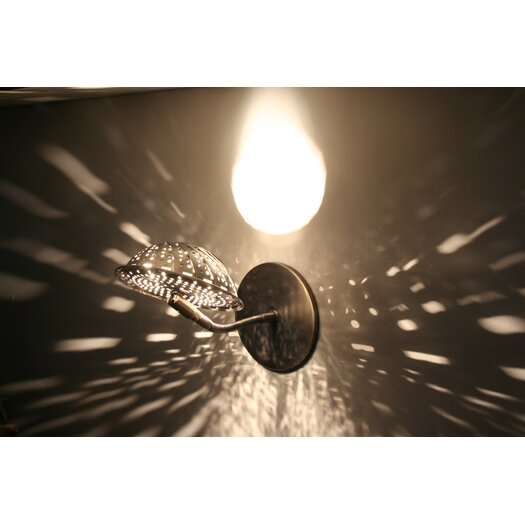 Lightexture Steamlight Extended Swing Arm Wall Sconce